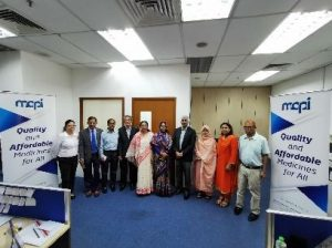A successful engagement and experience sharing with delegation from Ministry of Health & Family Welfare